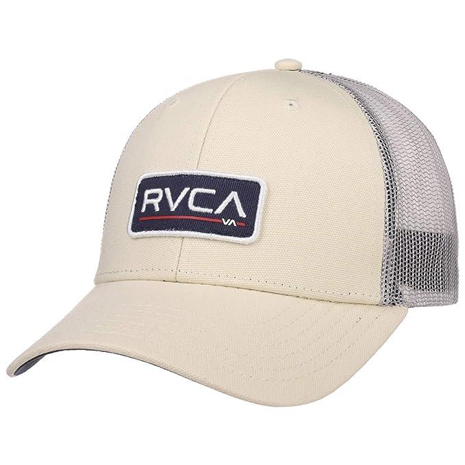 RVCA Gorra Ticket Trucker de Baseball (Talla única - Blanco Crema ...