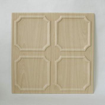 Decosa Deckenplatten Salzburg In Holz Optik 8 Platten 2 M2 Deckenpaneele In Birke Dekor Decken Paneele Aus Styropor 50 X 50 Cm B Ware Amazon De Baumarkt