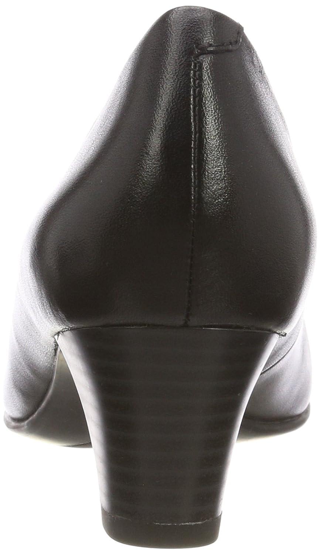 Caprice Damen 9-9-22415-21 022 Schwarz Pumps Schwarz 022 (schwarz Nappa 22) 1e0519