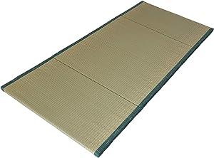 MustMat Japanese Tatami Mat Foldable Traditional Tatami Futon Mattress Natural Rush Grass 35.4