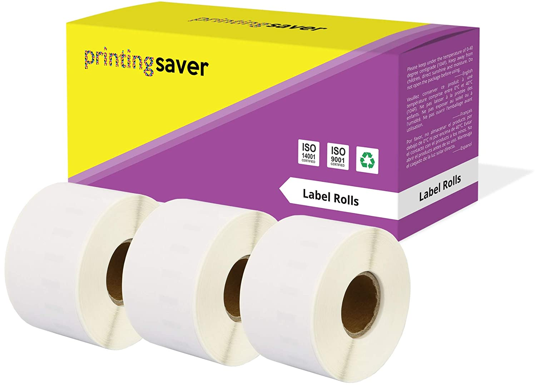 compatibles para Dymo LabelWriter 310 320 330 4XL 400 450 Turbo//Twin Turbo//Duo /& Seiko SLP Impresoras Printing Saver 5X 99015 54 x 70 mm Rollos de Etiquetas Adhesivas 320 Etiquetas por Rollo