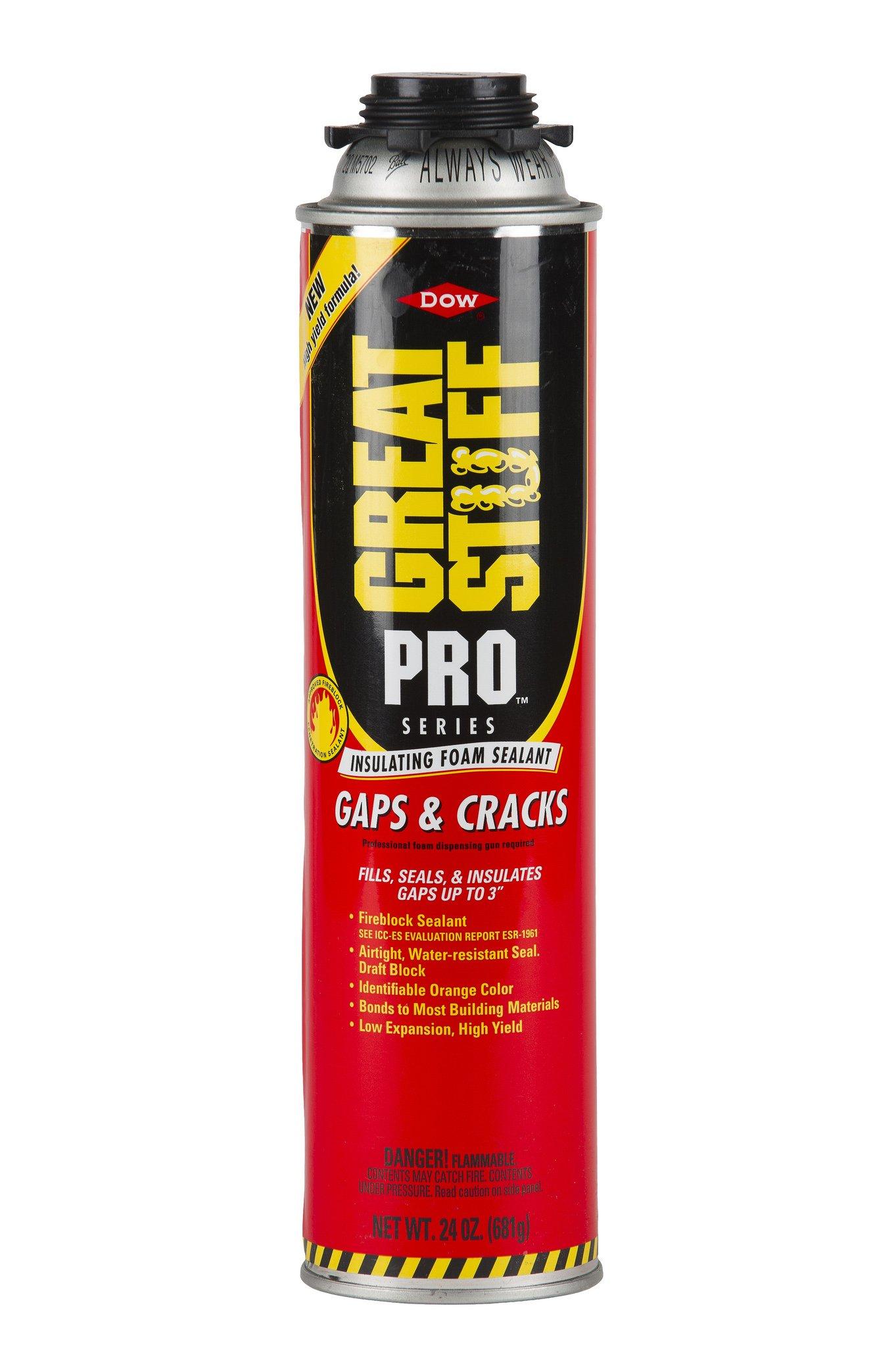 Great Stuff 341557 PRO Gaps/Cracks, 24 oz. Gun (Pack of 12)