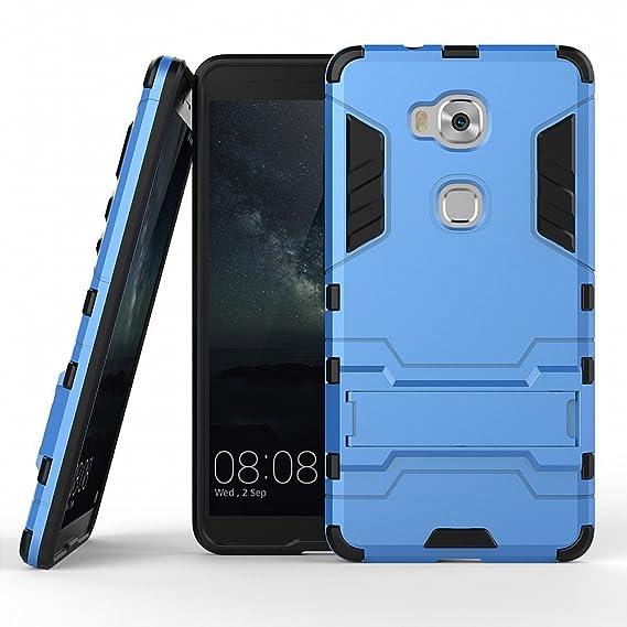moda firmata e6f58 66fa8 Amazon.com: Honor 5X Cover DWaybox Hybrid Armor Design with ...