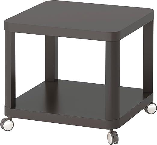 Zigzag Trading Ltd IKEA TINGBY - Mesa Auxiliar con Ruedas Gris ...