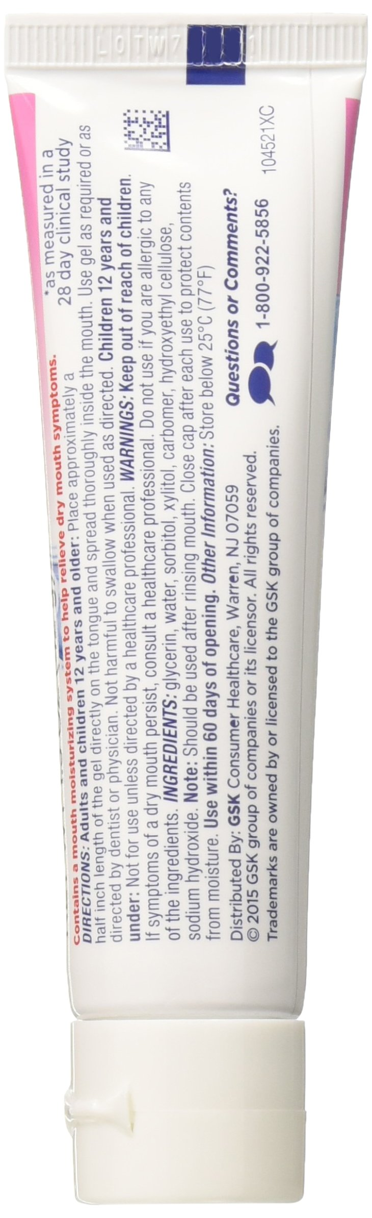 Biotene OralBalance Moisturizing Gel Flavor-Free, Alcohol-Free, for Dry Mouth, 1.5 ounce (Pack of 3) by Biotène (Image #5)