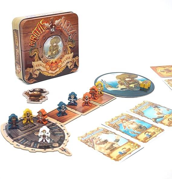 Tranjis Games - Piratas Al Agua - Juego de mesa (TRG-05pir): Amazon.es: Juguetes y juegos