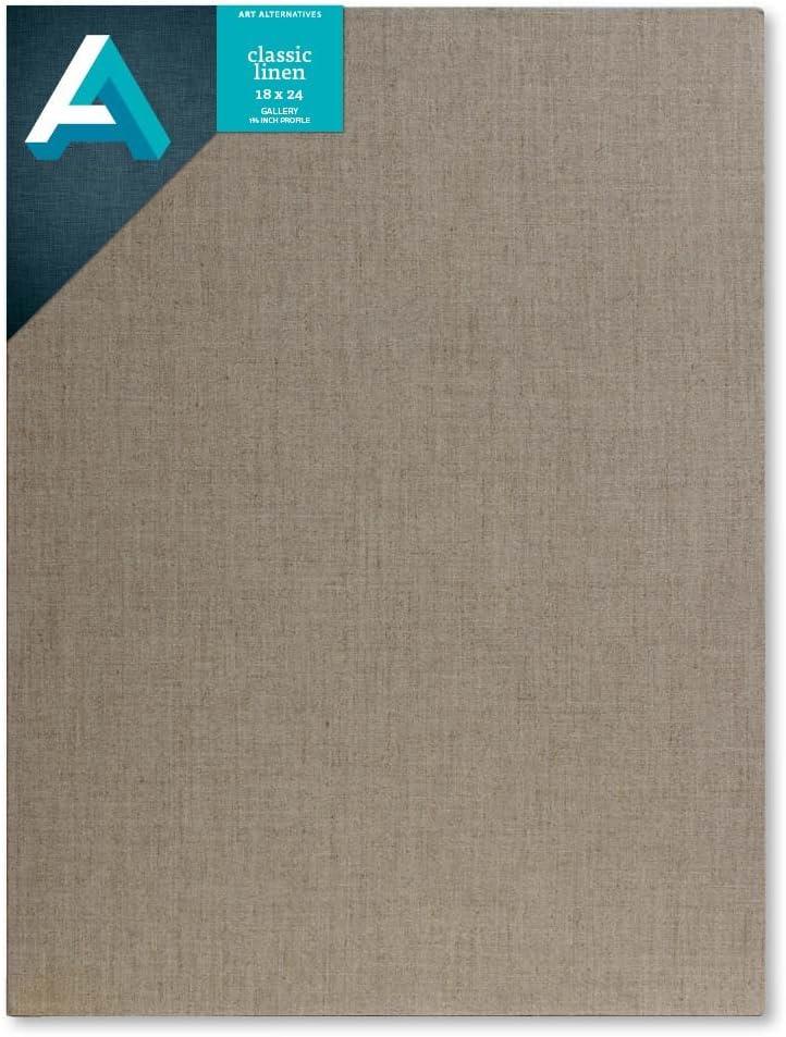 Art Alternatives Linen Stretched Canvas 18 X 24