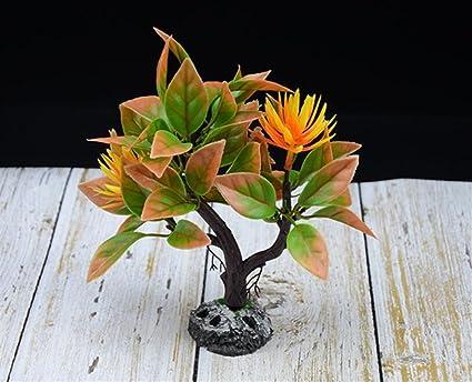 SDCXV Hermoso Planta Colorida del Ornamento del árbol del Pecera para la decoración del Paisaje del