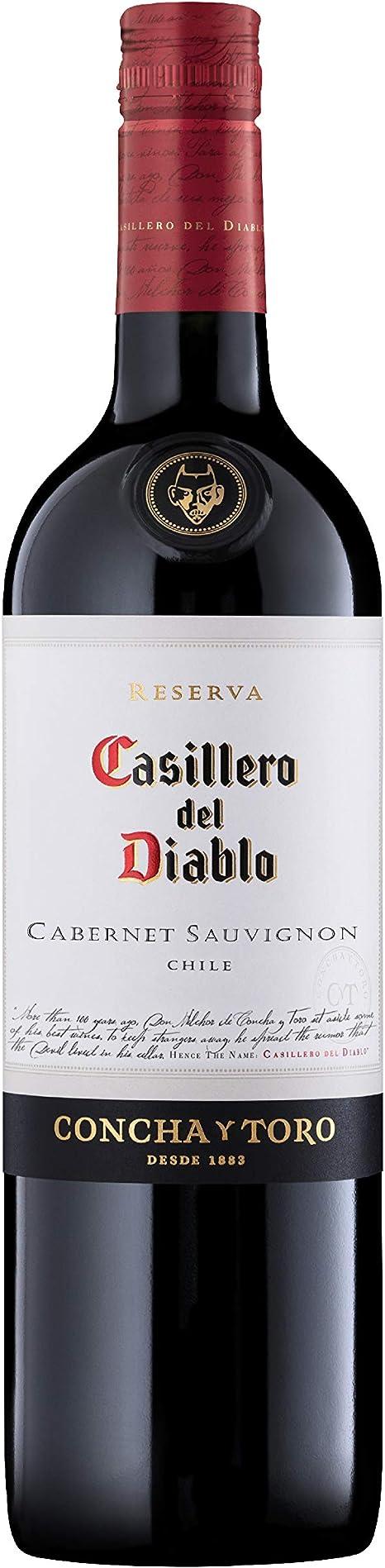 Vinho Tinto Casillero Del Diablo Cabernet Sauvignon 750ml