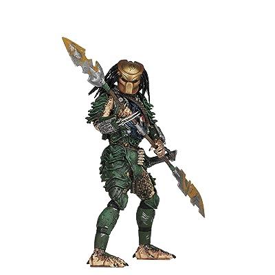 "NECA - Predator - 7"" Scale Action Figures - Series 18 - Broken Tusk Predator: Toys & Games"