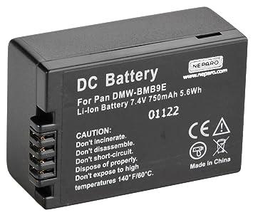 Batería 2x para Panasonic dmcfz 40 dmcfz 45 dmcfz 48 dmcfz 100
