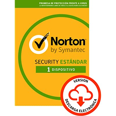 Norton Security | Estándar | 1 Dispositivo | 1 Año | PC/Mac | Código de activación enviado por email