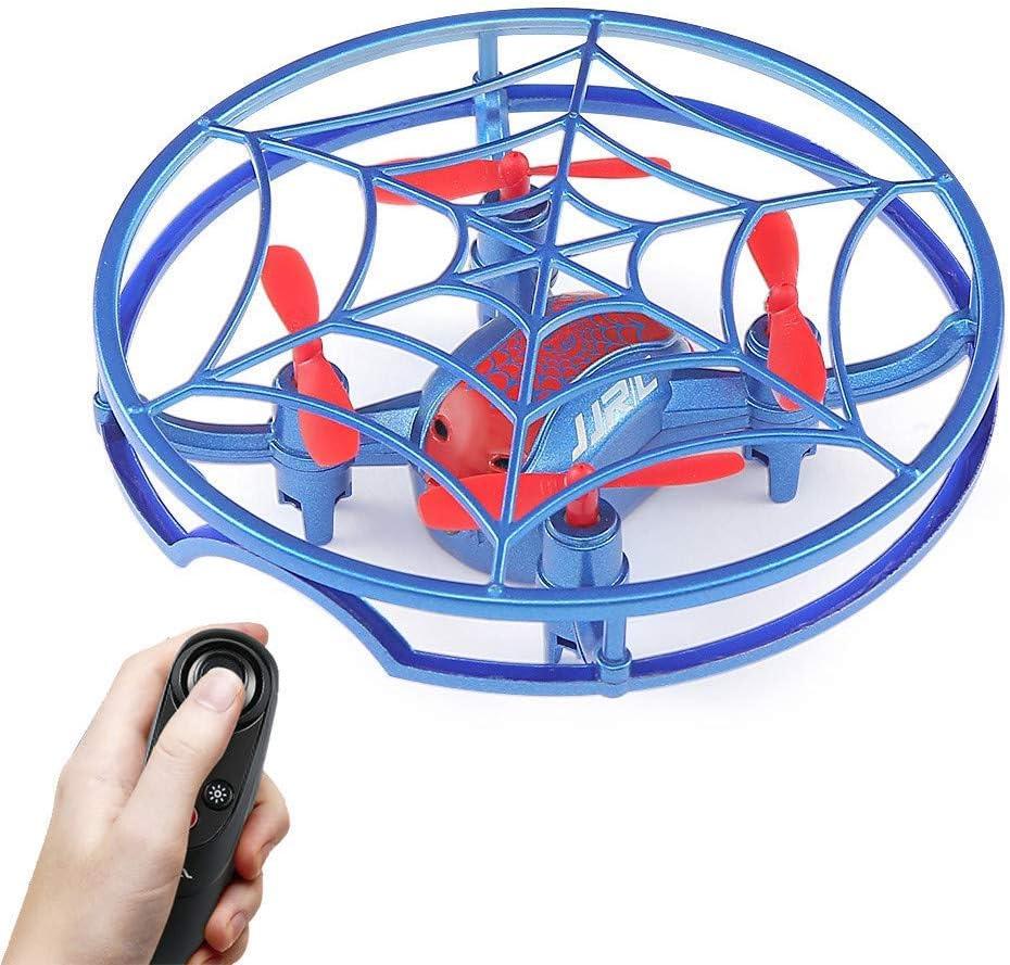 Altitud Hold G-Sensor Aviso de Voz Spider Mini RC Drone Quadcopter UAV Aviones para niños Regalo para niños Principiantes Juguete