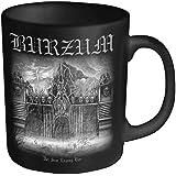 Burzum Det Som Official New Black Boxed Mug