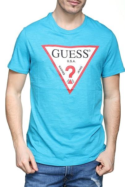 GUESS M82I42 K4Y10 Original Tee Camiseta Hombre Bluette L