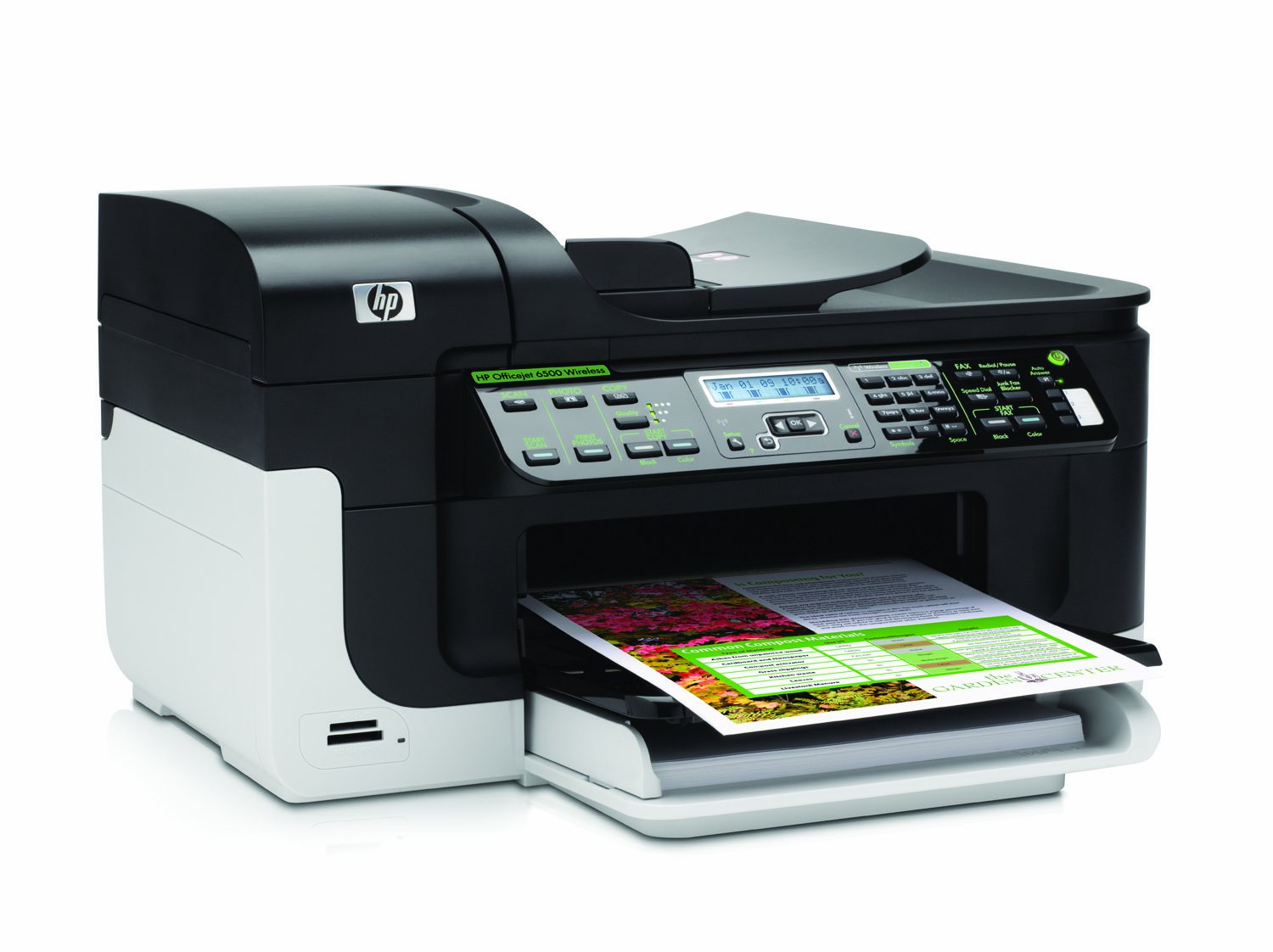 HP Officejet 6500 Wireless Multifunction All-in-One Printer, Copier,  Scanner and Fax: Amazon.co.uk: Computers & Accessories