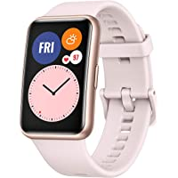 """HUAWEI Smartwatch Fit Pantalla 1.64"""", Bluetooth, Android/iOS, Rosa"""