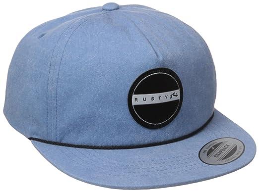 63930d45592 Amazon.com  Rusty Men s Waxhead Snapback Hat