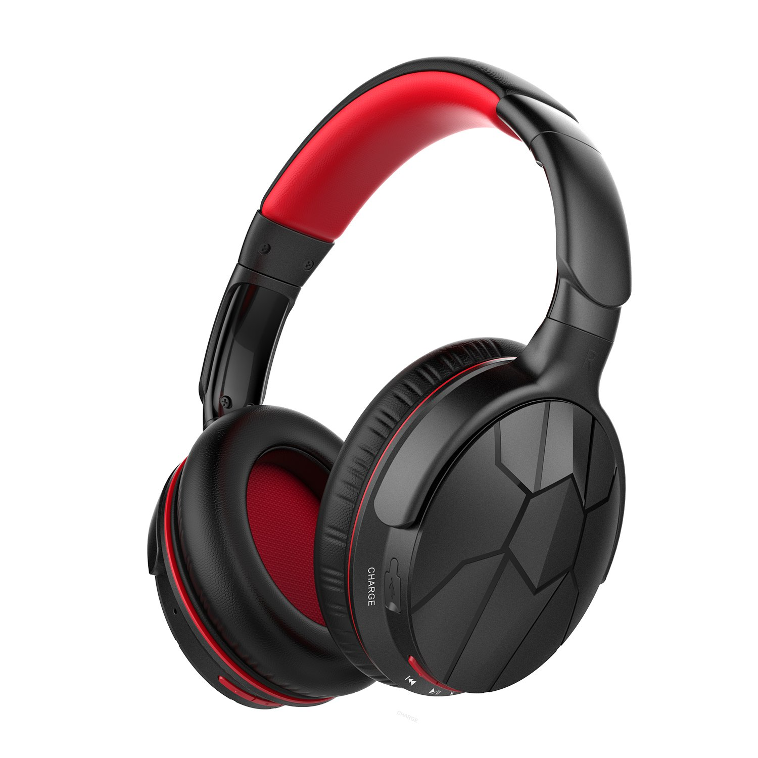 Mixcder HD501 Wireless Headphones, Bluetooth 4.0 Cordless Stereo Headsets with Mircophone, Over Ear, Lightweight, Soft Memory-Protein Earmuffs and Wired Mode for PC/TV/ Cell Phones