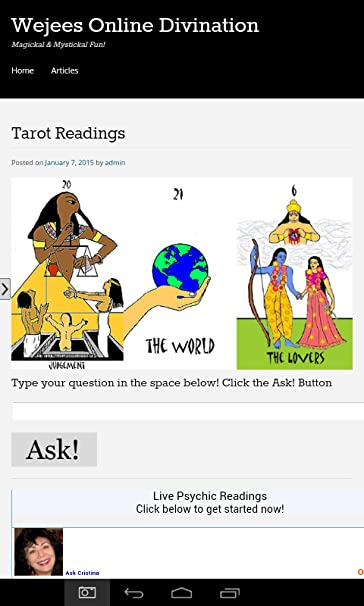 Amazon.com: Online Divination and Magick: Appstore for Android