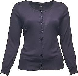 3a4ebd0ef9ead Lane Bryant Blue Button Down Cardigan Sweater