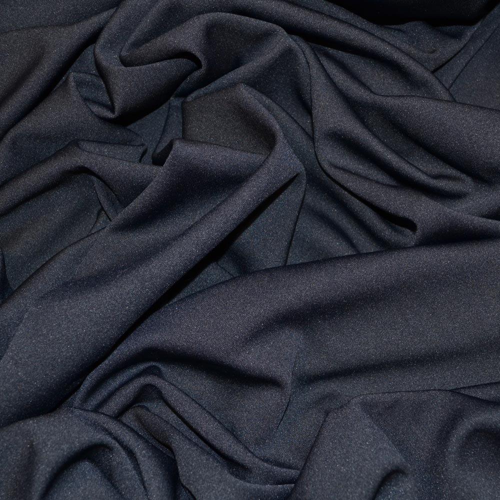 C7667 Navy Scuba Stretch Crepe Fabric