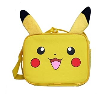 BRAND NEW FREE SHIP! Pokemon Pikachu Insulated Lunch Box// Lunch Tote