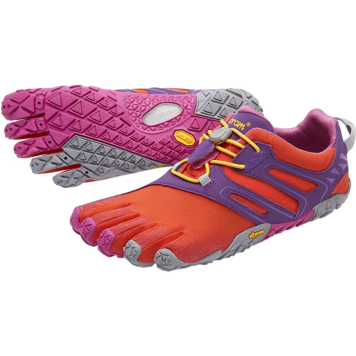 Vibram Women's V Trail Runner B072KKHKF7 35 M EU|Magenta / Orange