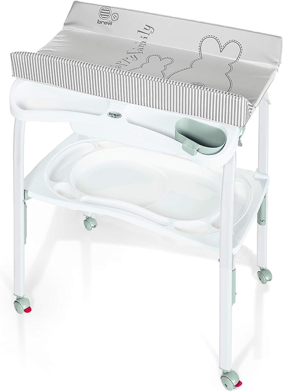 IB-Style Table à langer pliable avec baignoire DécorMy little Farm