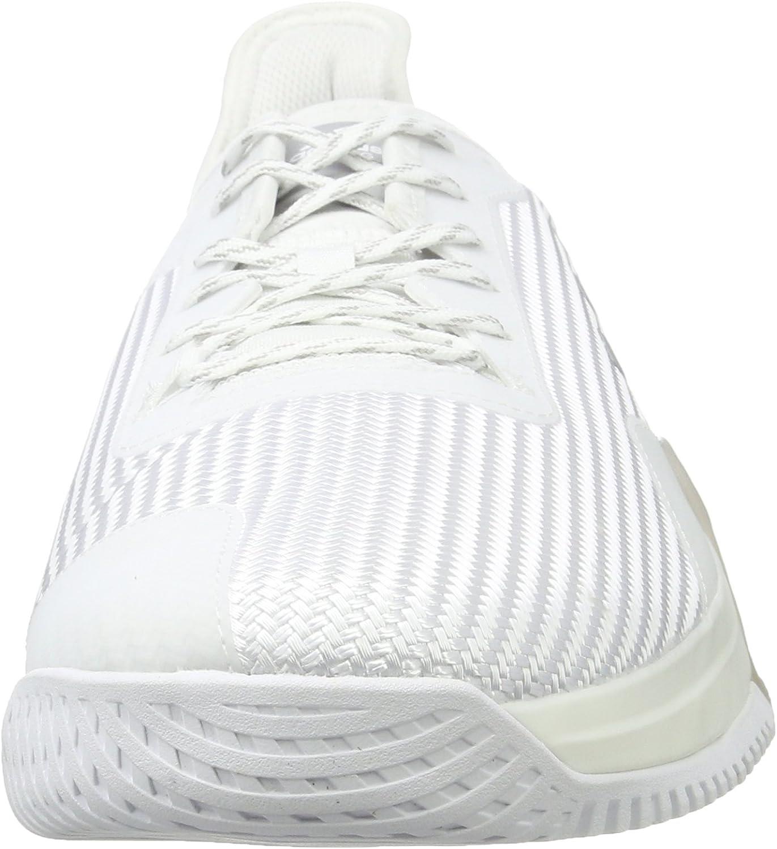 adidas Crazytrain Elite M, Chaussures de Gymnastique Homme Multicolore Ftwr White Silver Met Core Black