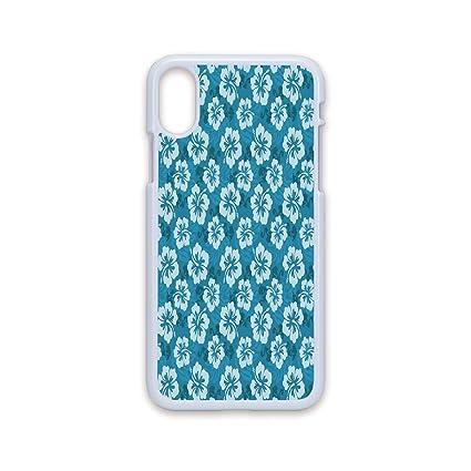 Amazon Com Phone Case Compatible With Iphone X White Edge 2d Print