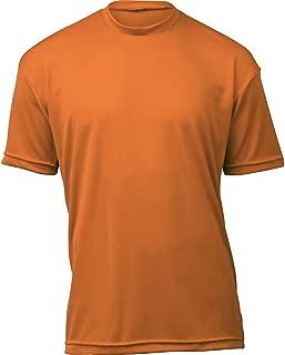 product image for WSI Microtech Loose Short Sleeve Shirt, Burnt Orange, Large