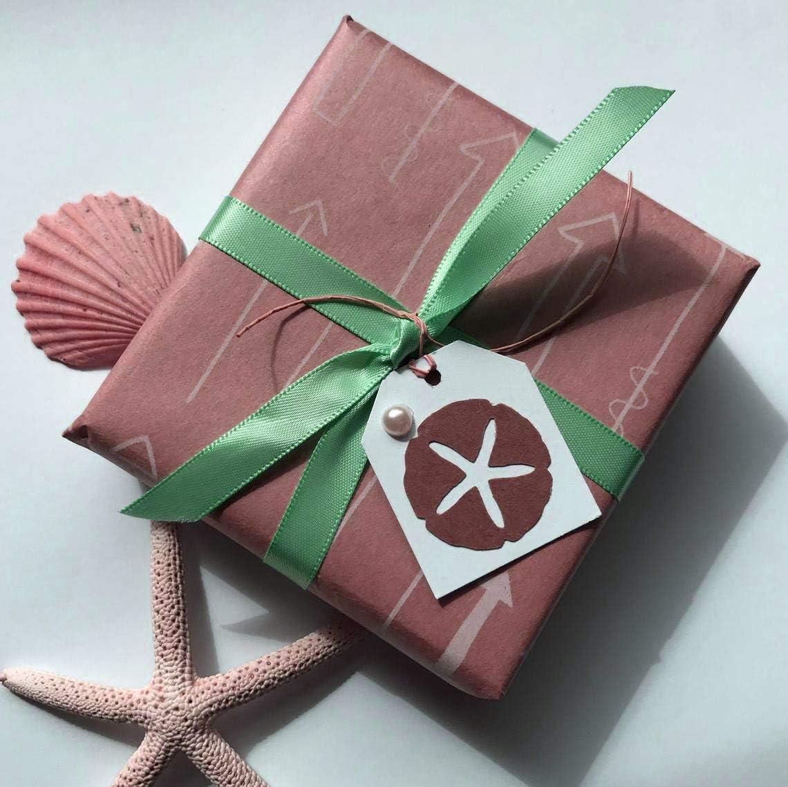 Menthe F/ête et Emballage Cadeau Faire n/œud Papillon ITIsparkle Ruban Satin 6mm x 45m Environ D/écoration pour DIY Mariage