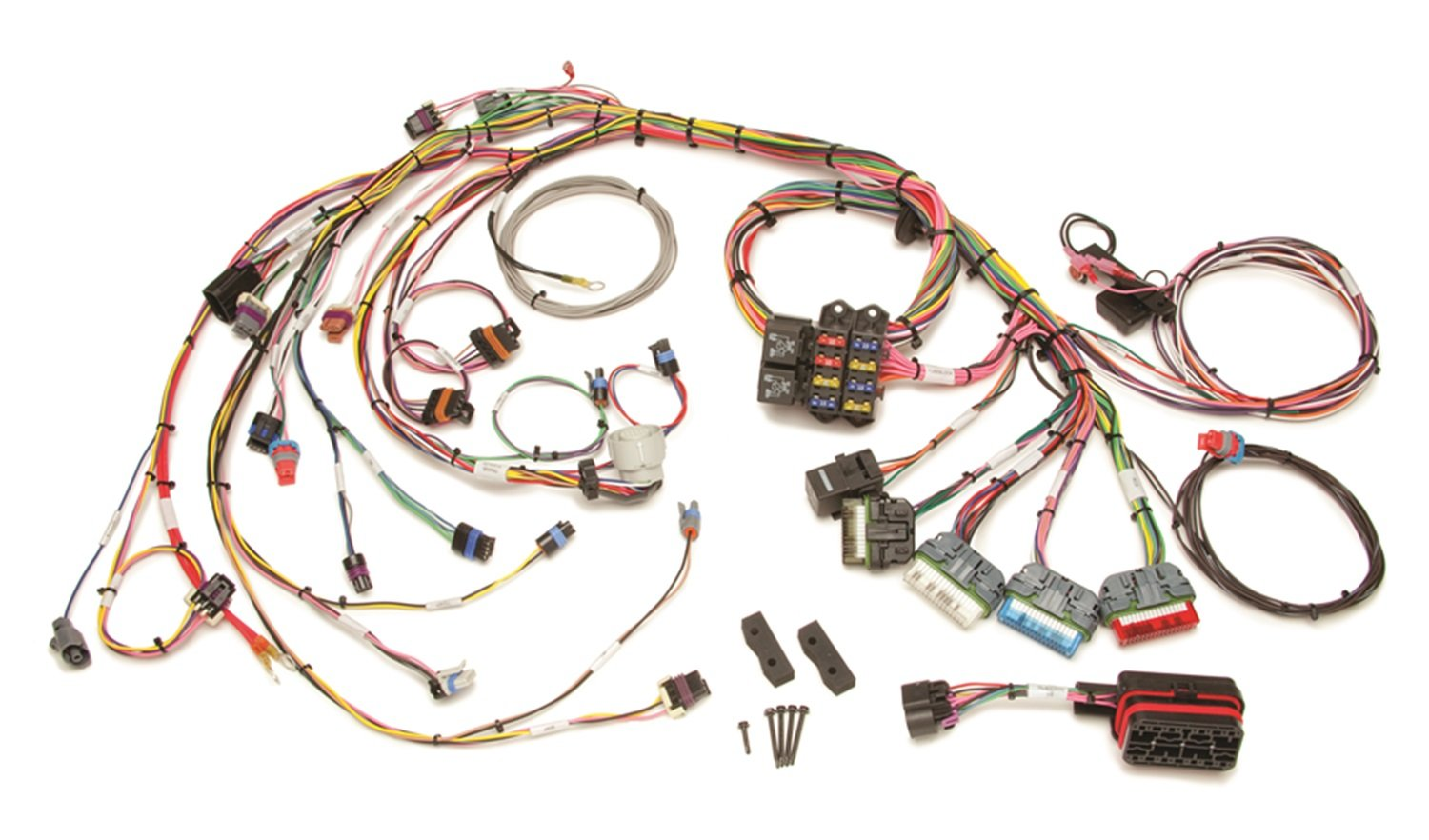 Amazon.com: Painless Wiring 60213 Fuel Injection Wiring ... on painless switch panel, painless fuse box, painless lt1 harness,