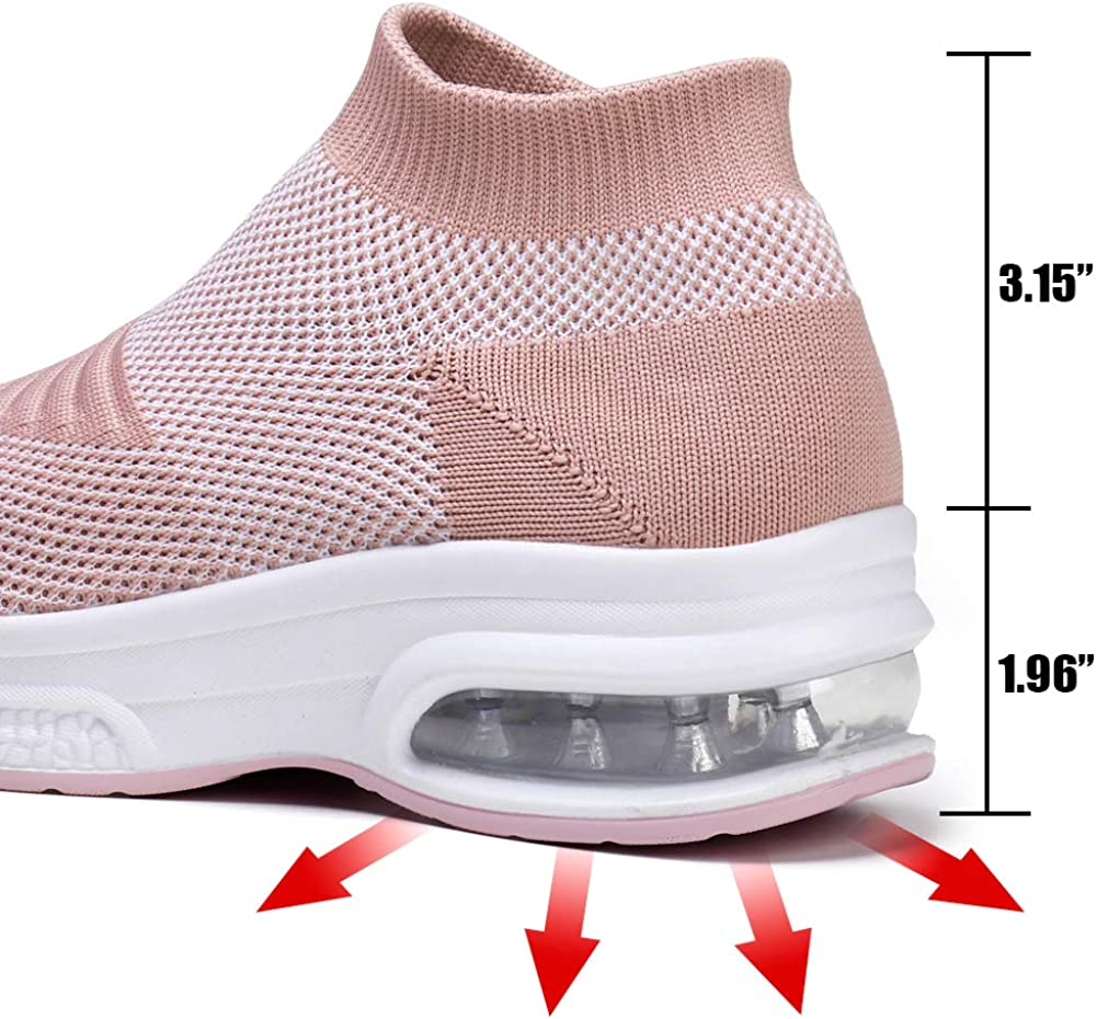 YKH Womens Trainers Cushion Running Shoes