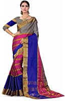Ruchika Fashion Artificial Silk Saree With Blouse Piece(Ayesha Variations)
