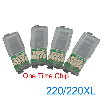 Amazon com: CEYE One Time Chips For EPSON Workforce WF-2630 2650