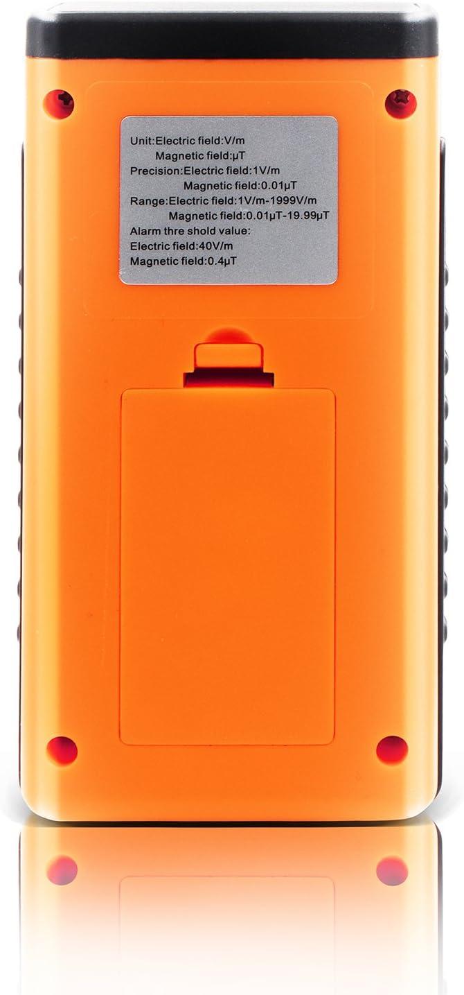 0.01-19.99/μT 1-1999V//m; Magnetic PerfectPrime MW3120 Electromagnetic Radiation Detector//Tester Electric