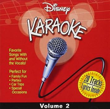 Various Artists - Disney Karaoke, Volume 2 - Amazon com Music