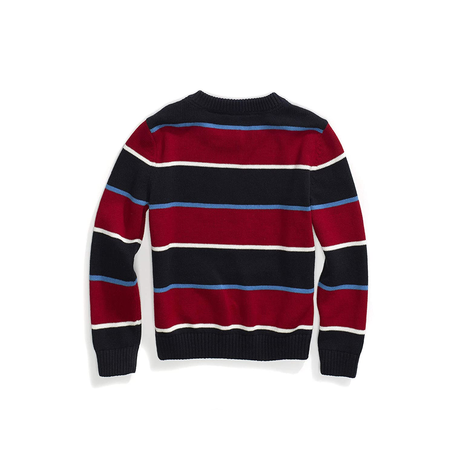 Tommy Hilfiger Boys Adaptive Sweater with Adjustable Shoulder Closure