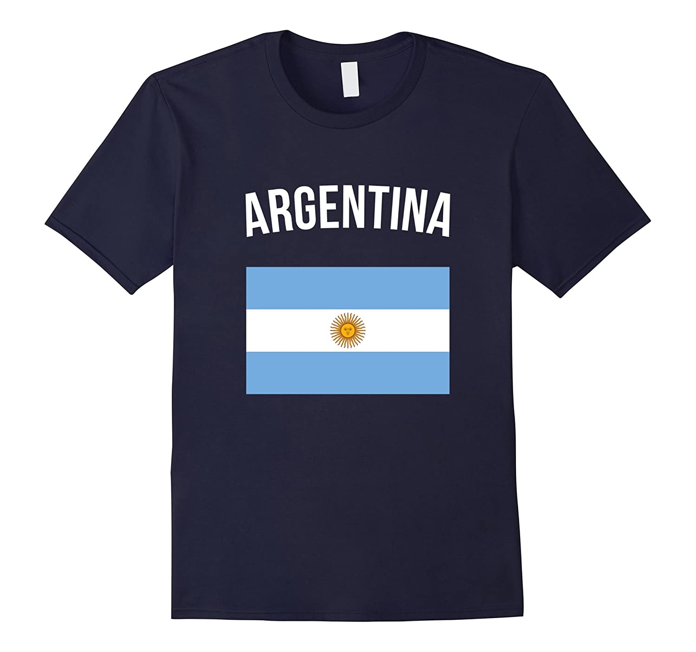 Argentina T-shirt Argentinian Flag Tee Pride Travel Souvenir-FL