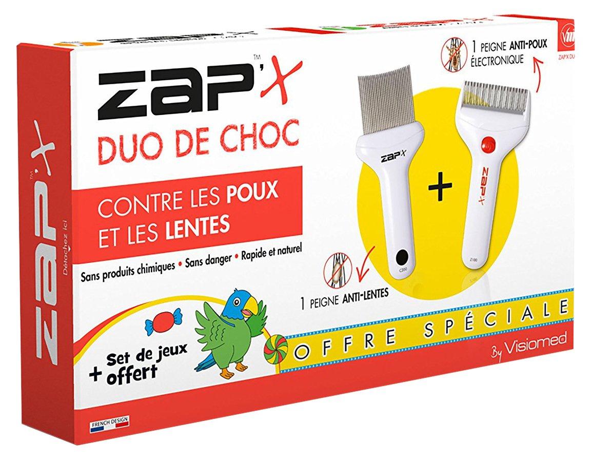 Zap'X Sac à Dos Peignes - Blanc Zap' X COMBO ZAP' X