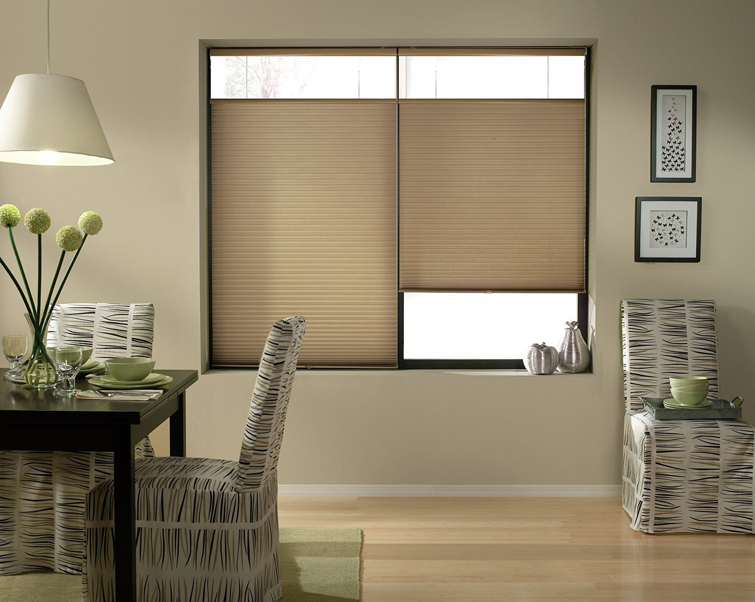 Top Down Bottom Up Cordless Cellular Shade Antique Linen 23x48 Window Blind Store