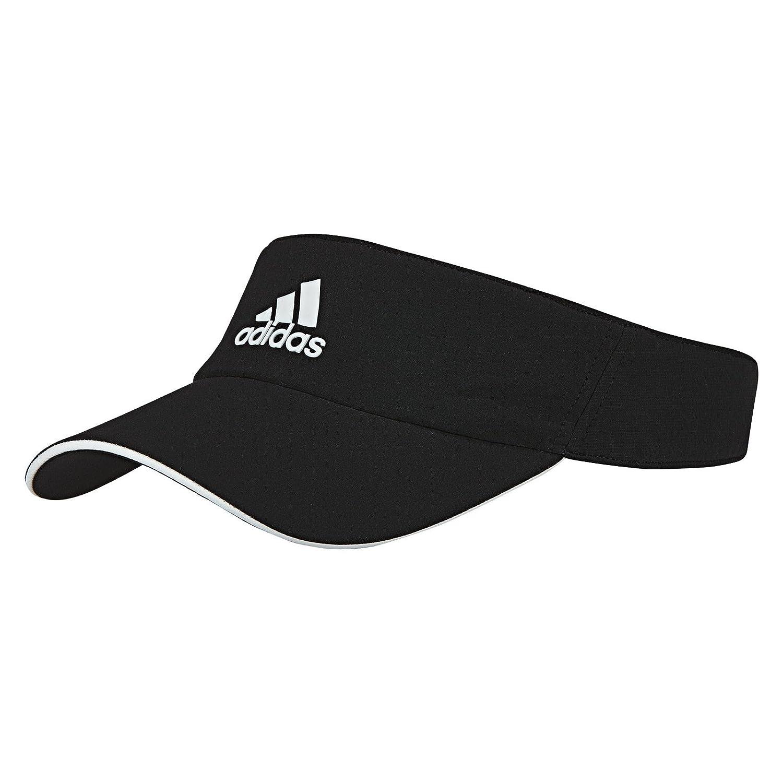 df288a9ad5e Adidas Clima Lite Sports Tennis Visor Hat (Black White