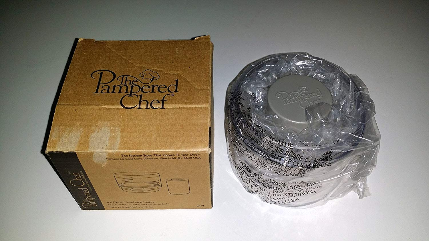 The Pampered Chef #2485 – Expensive ice cream sandwich maker