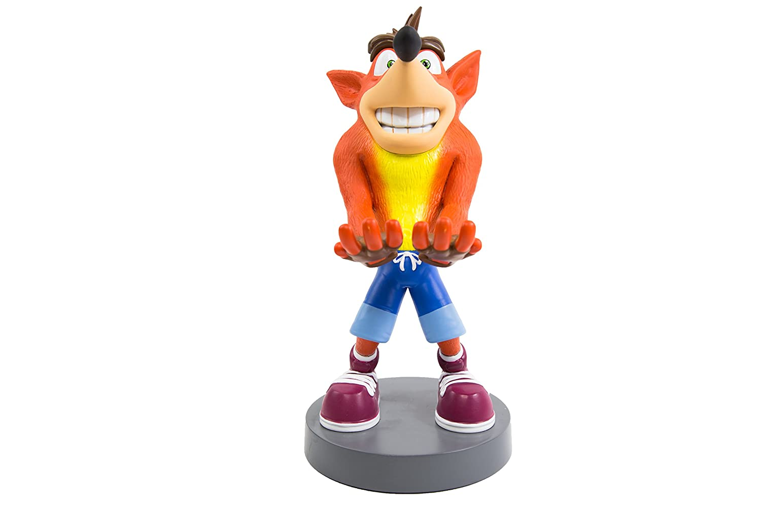 Crash Bandicoot Cable Guy Crash Bandicoot 20 cm Exquisite Gaming Adattatori CGACT10001