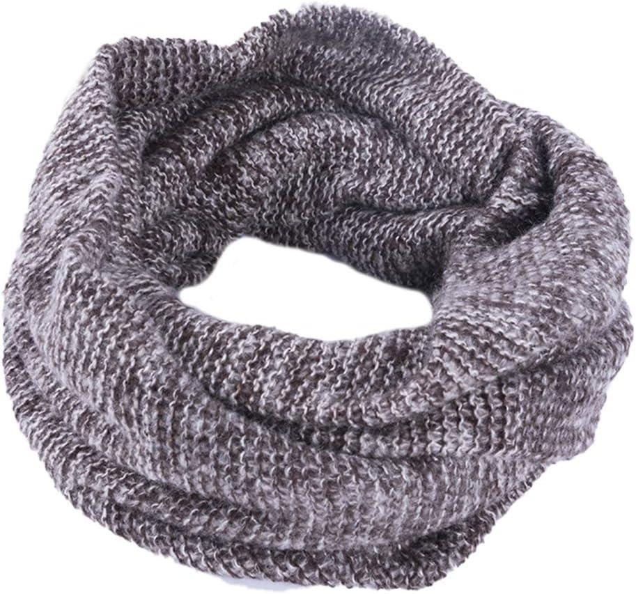 MoreChioce Winter Loop Schal,Elegant Dicke Schlauchschal Damen Gestrickt Rundschal Frauen Elastisch Loopschal