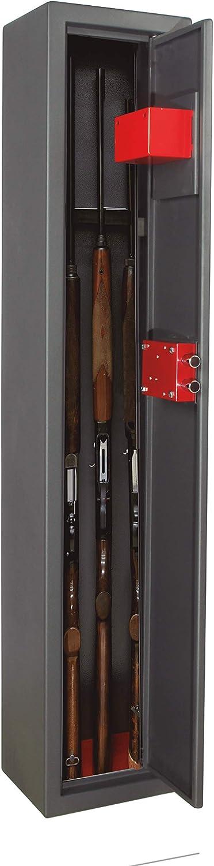 Arregui - Armero arma larga para 3 escopetas, gris oscuro: Amazon.es: Bricolaje y herramientas