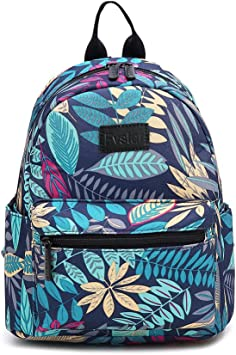 Fashion Heart Printed Girls Casual Lightweight Outdoor Travel Durable Backpack Children