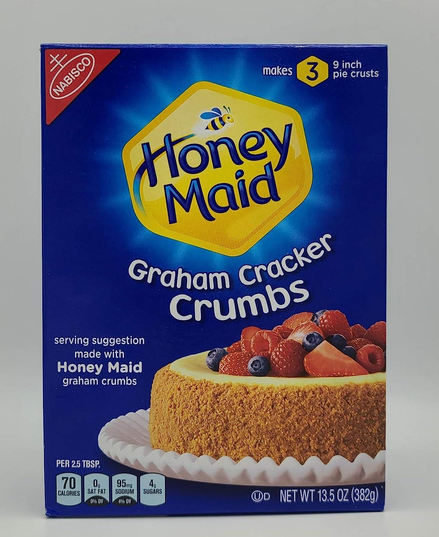 Dollhouse Miniature Detailed Replica Honey Maid Graham Crackers Food Box HR54106